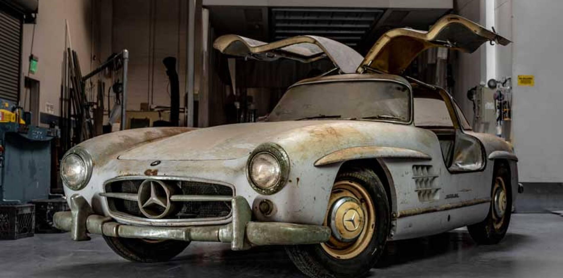 Mercedes-Benz recupera para restaurar dos 300 SL 'alas de gaviota'