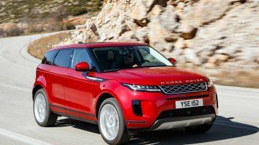 Range Rover Evoque prueba