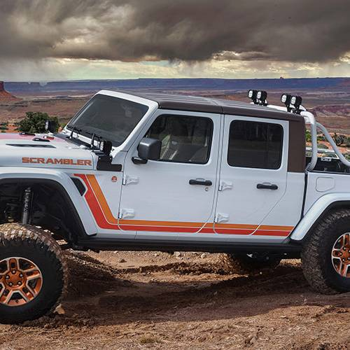 Jeep ha preparado hasta seis impresionantes Jeep Gladiator para Easter Jeep Safari Moab