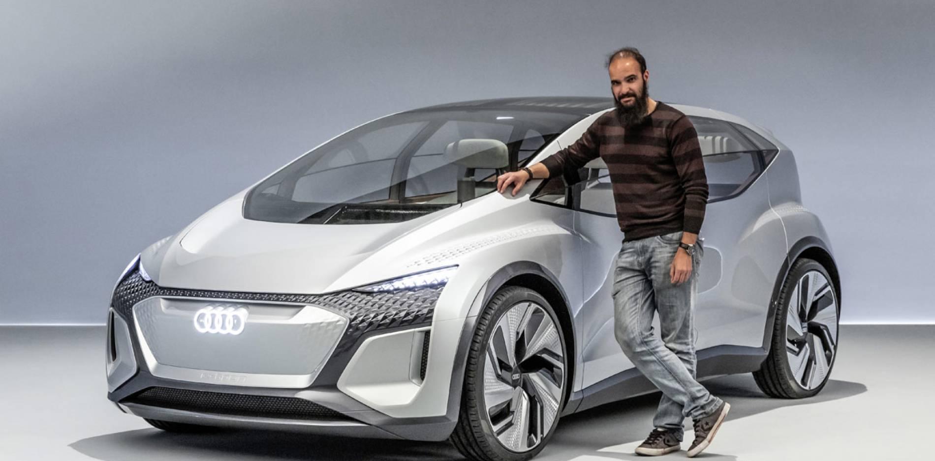 Descubrimos en persona el Audi AI:ME Concept, así interpreta el futuro de la automoción