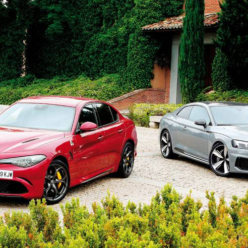 Comparativa de berlinas deportivas, Audi RS 5 Coupé vs Alfa Romeo Giulia Quadrifoglio