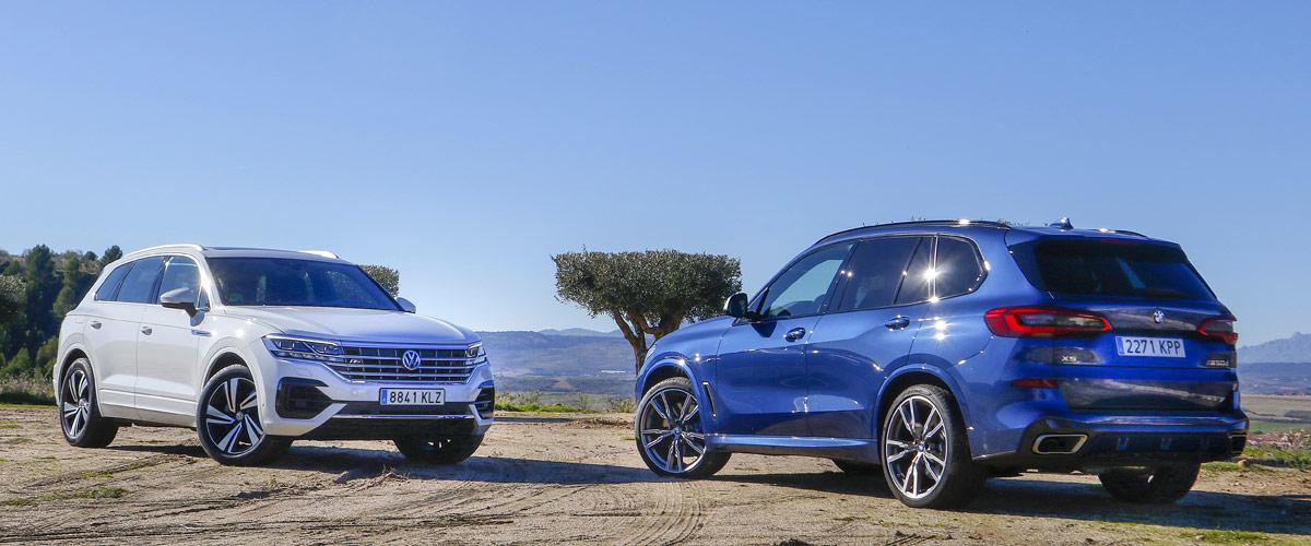Comparativa BMW X5 vs Volkswagen Touareg
