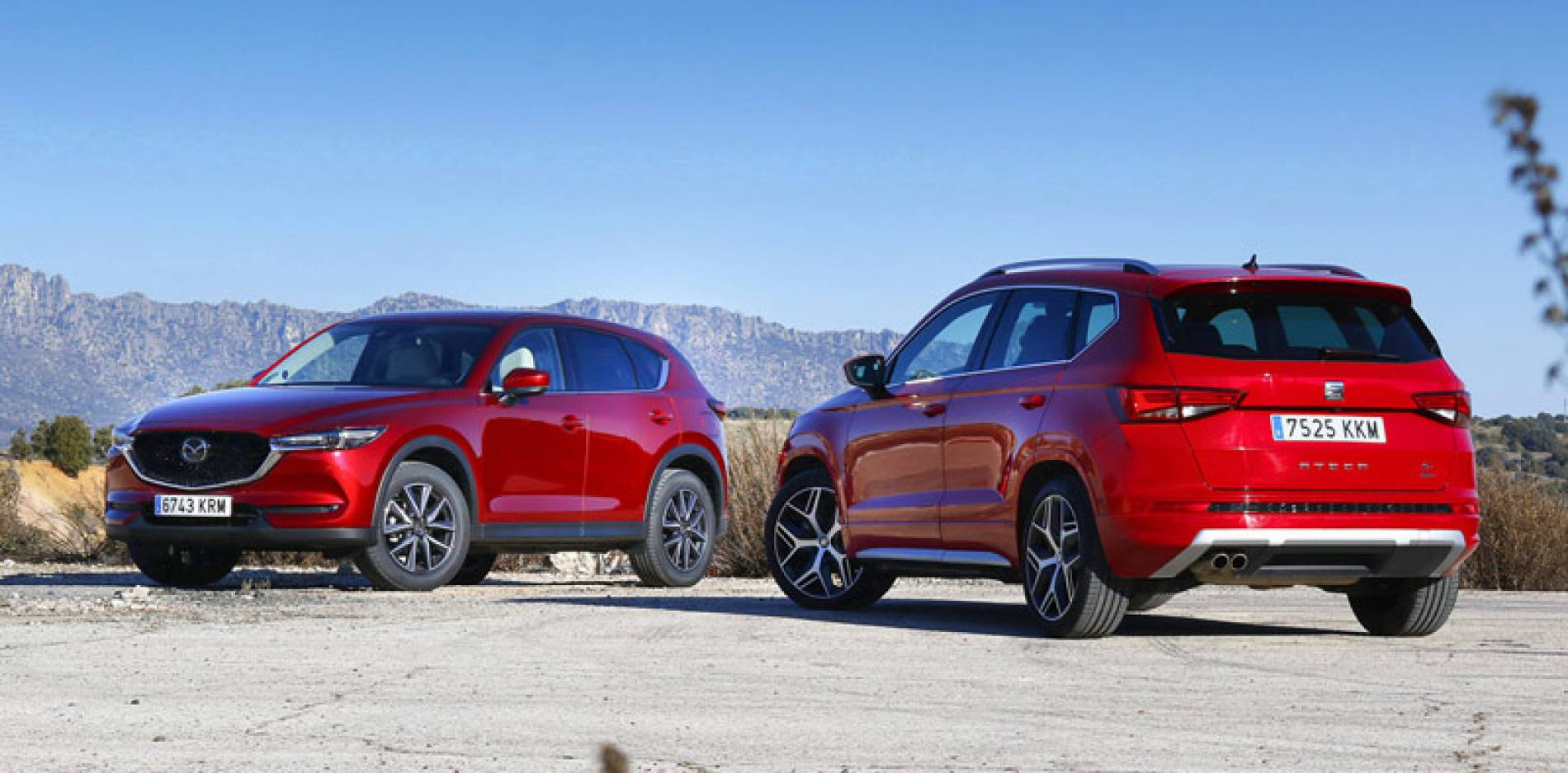 Comparativa SUV Mazda CX-5 vs. SEAT Ateca, caminos separados para un mismo fin