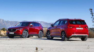 Comparativa Mazda CX-5 vs SEAT Ateca