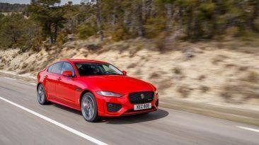 nuevo Jaguar XE prueba