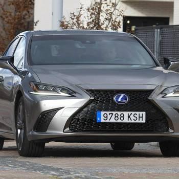 Prueba del Lexus ES 300h F Sport, eficiencia dinámica