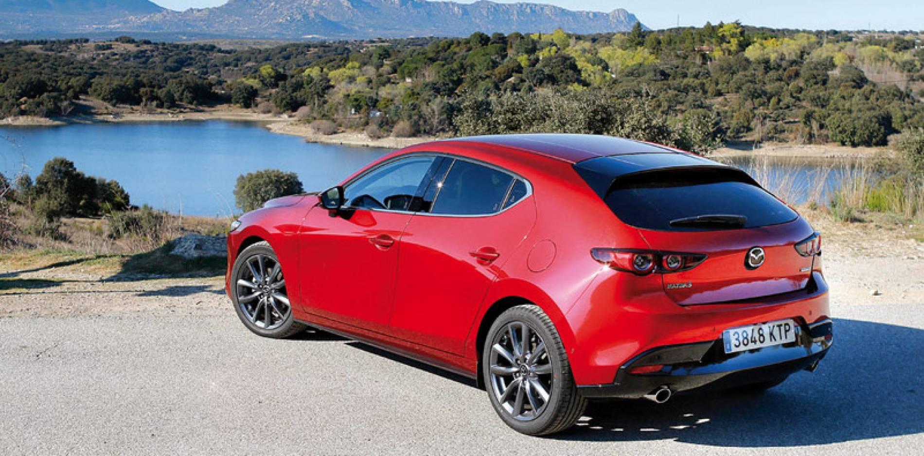 Prueba del Mazda3 2.0 Skyactiv-G 122 CV Zenith, suavidad y finura