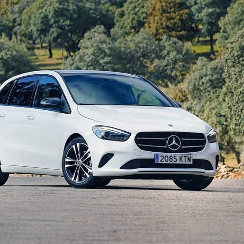 Prueba Mercedes-Benz B 200 d, la estrella de la casa
