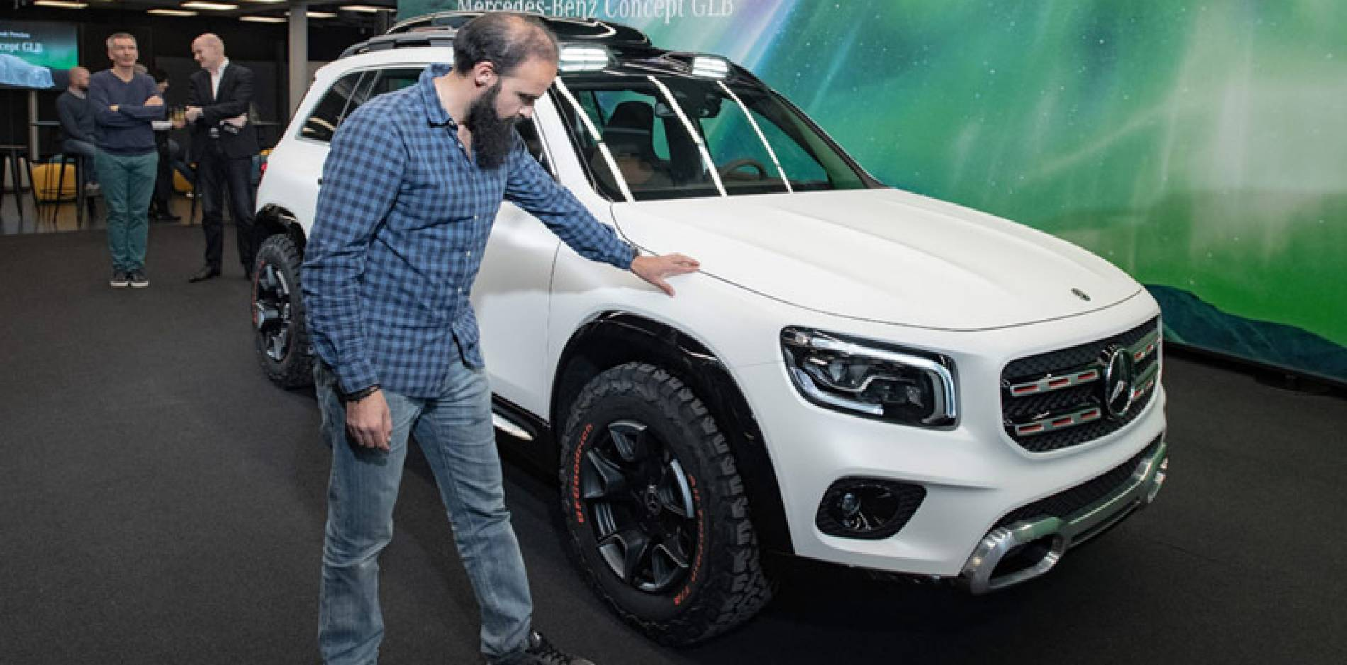 El Mercedes-Benz Concept GLB, el 'baby G' ya está en camino