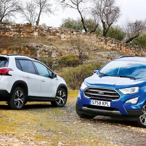 Comparativa de SUV urbanos: Peugeot 2008 vs Ford EcoSport, ¿solo para la ciudad?
