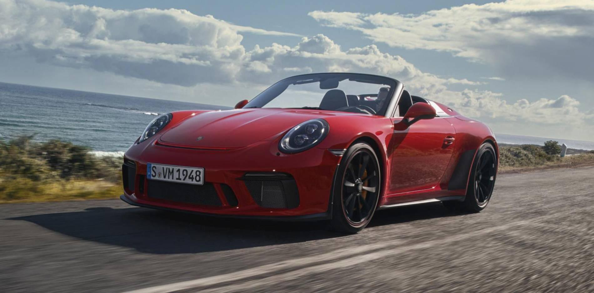 Porsche 911 Speedster, la guinda del pastel de la última generación llega con una edición limitada