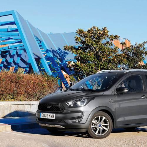 Prueba del Ford Ka+ Active, aventura urbana