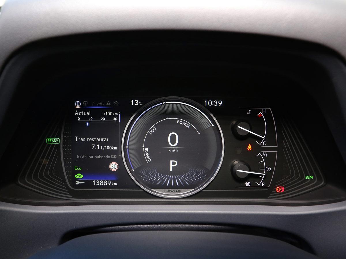 Prueba Lexus 250h Executive
