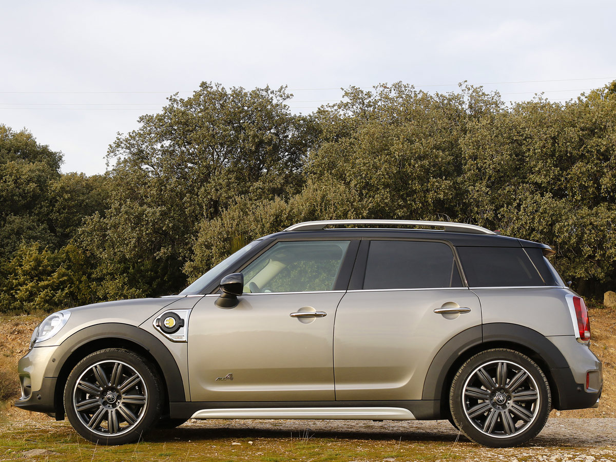 Prueba MINI Cooper S E All4 Countryman