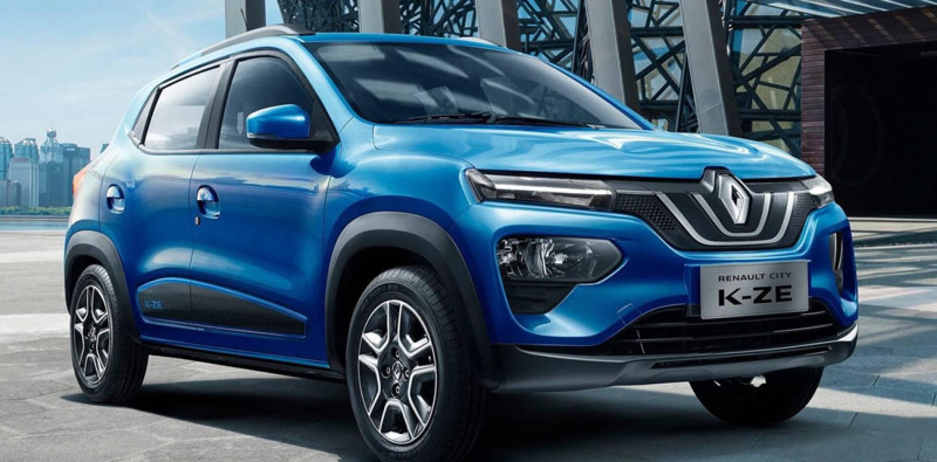 Renault City K-ZE, la nueva apuesta eléctrica del rombo es un crossover