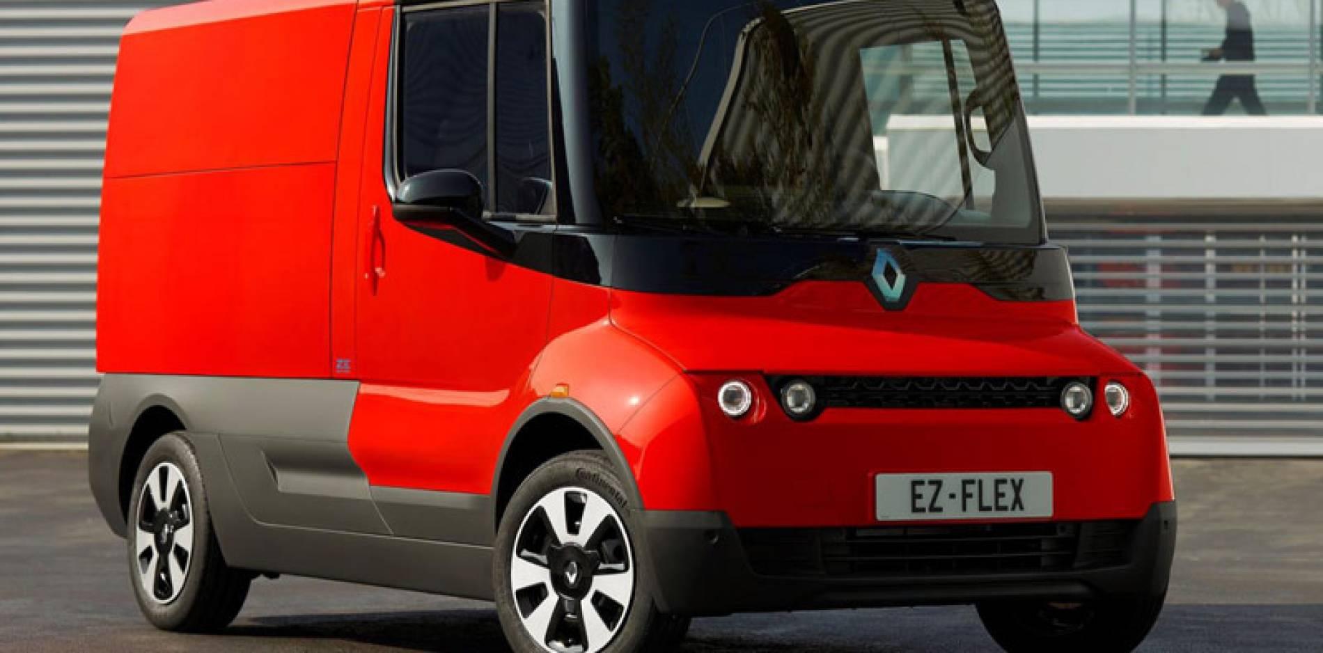 Renault EZ-FLEX, así podrían ser los comerciales de Renault en 2030