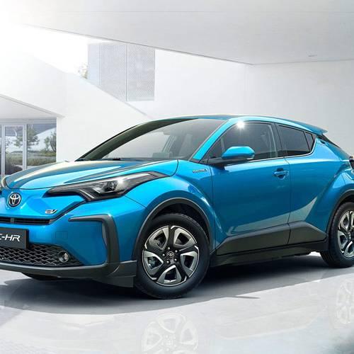 Así se presenta la versión eléctrica del Toyota CH-R