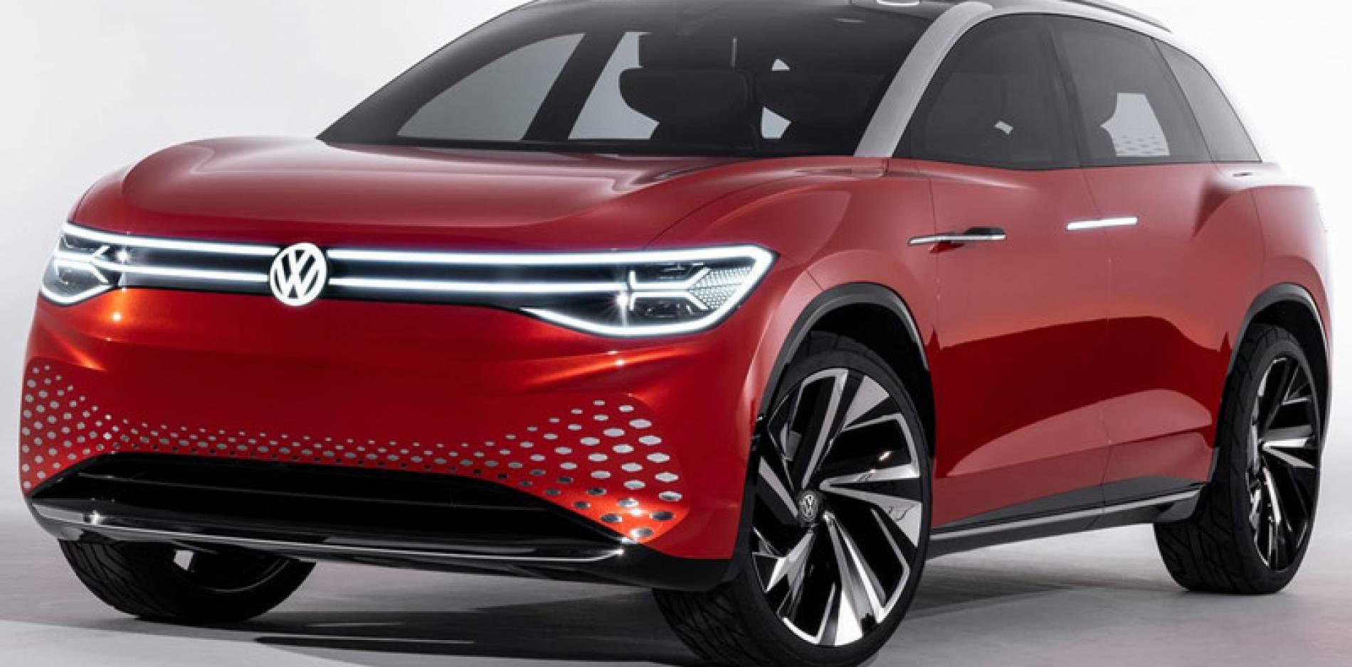 Volkswagen ID Roomzz, un SUV de siete plazas para la nueva familia de eléctricos de VW