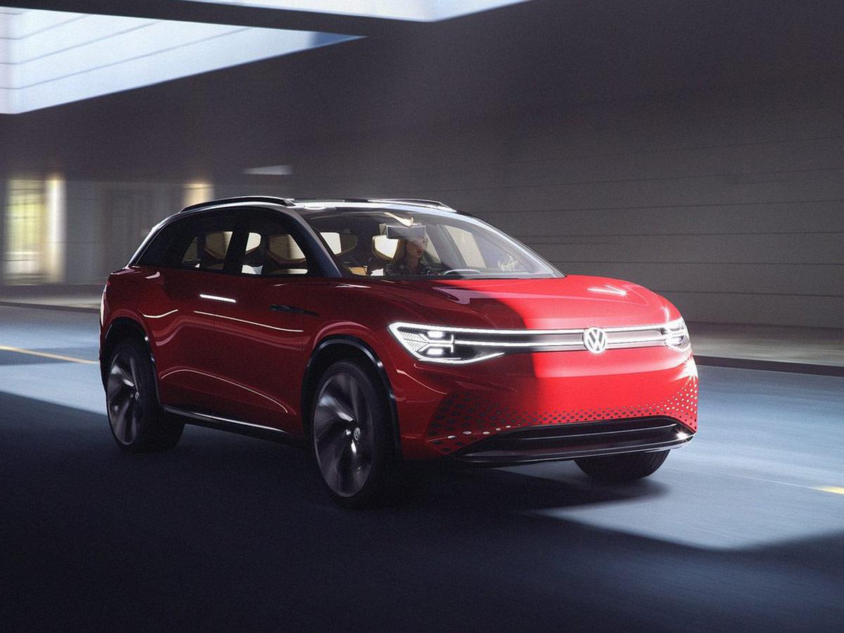 Volkswagen ID Roomzz Concept 2019