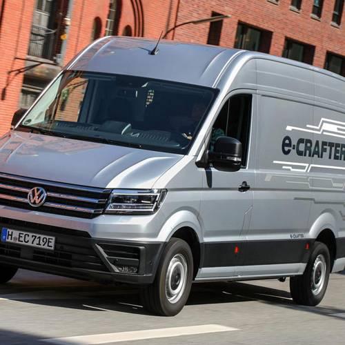 Volkswagen e-Crafter, la furgoneta 100 % eléctrica ideal para el reparto de última milla