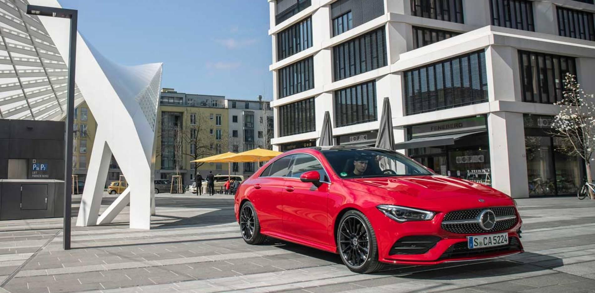 Mercedes-Benz CLA Coupé, primera prueba