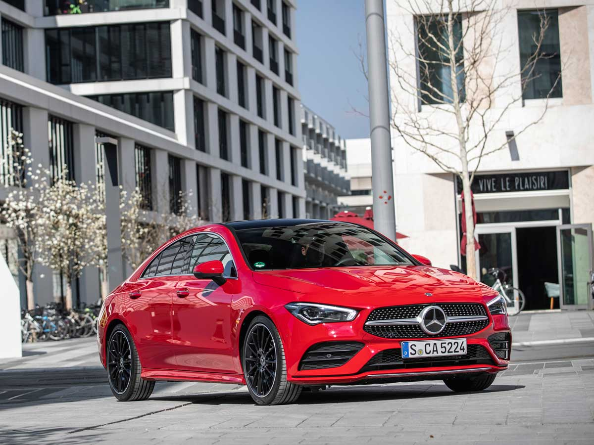 Prueba Mercedes-Benz CLA Coupé 2019