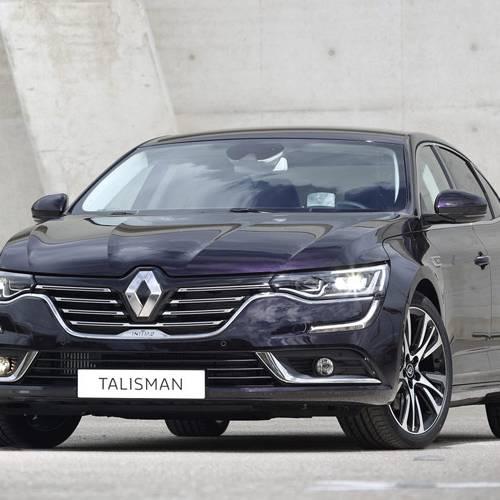 La actualización del Renault Talisman llegará en el último trimestre del año