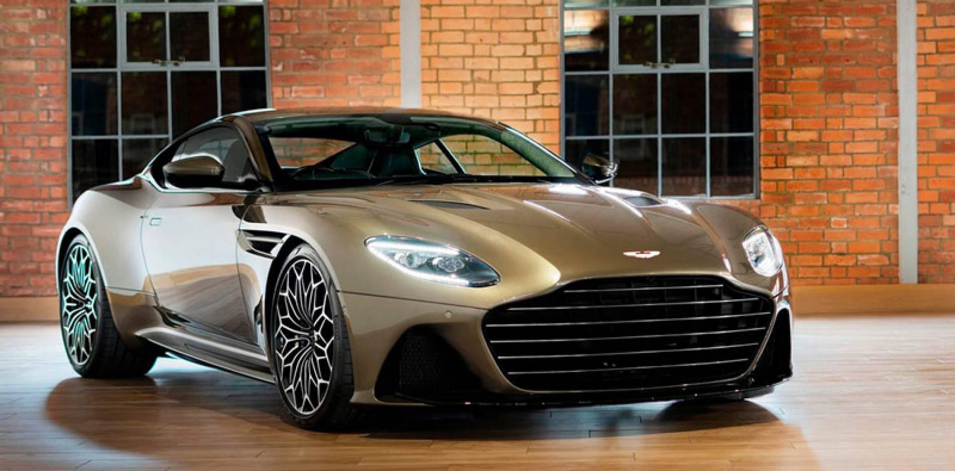 Aston Martin DBS Superleggera OHMSS Edition, versión especial al servicio de Su Majestad