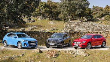 Audi Q3 vs BMW X1 vs Mercedes-Benz GLA