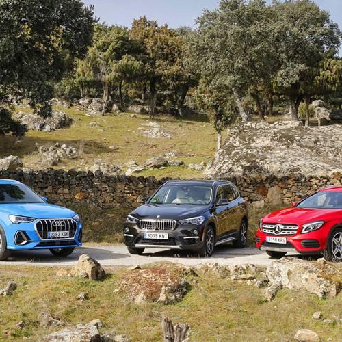 Audi Q3 vs. BMW X1 vs. Mercedes-Benz GLA, ¿con cuál te quedas?