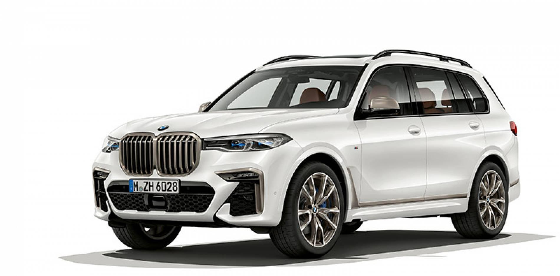 Llega el SUV más grande y más potente, el BMW X7 M50i