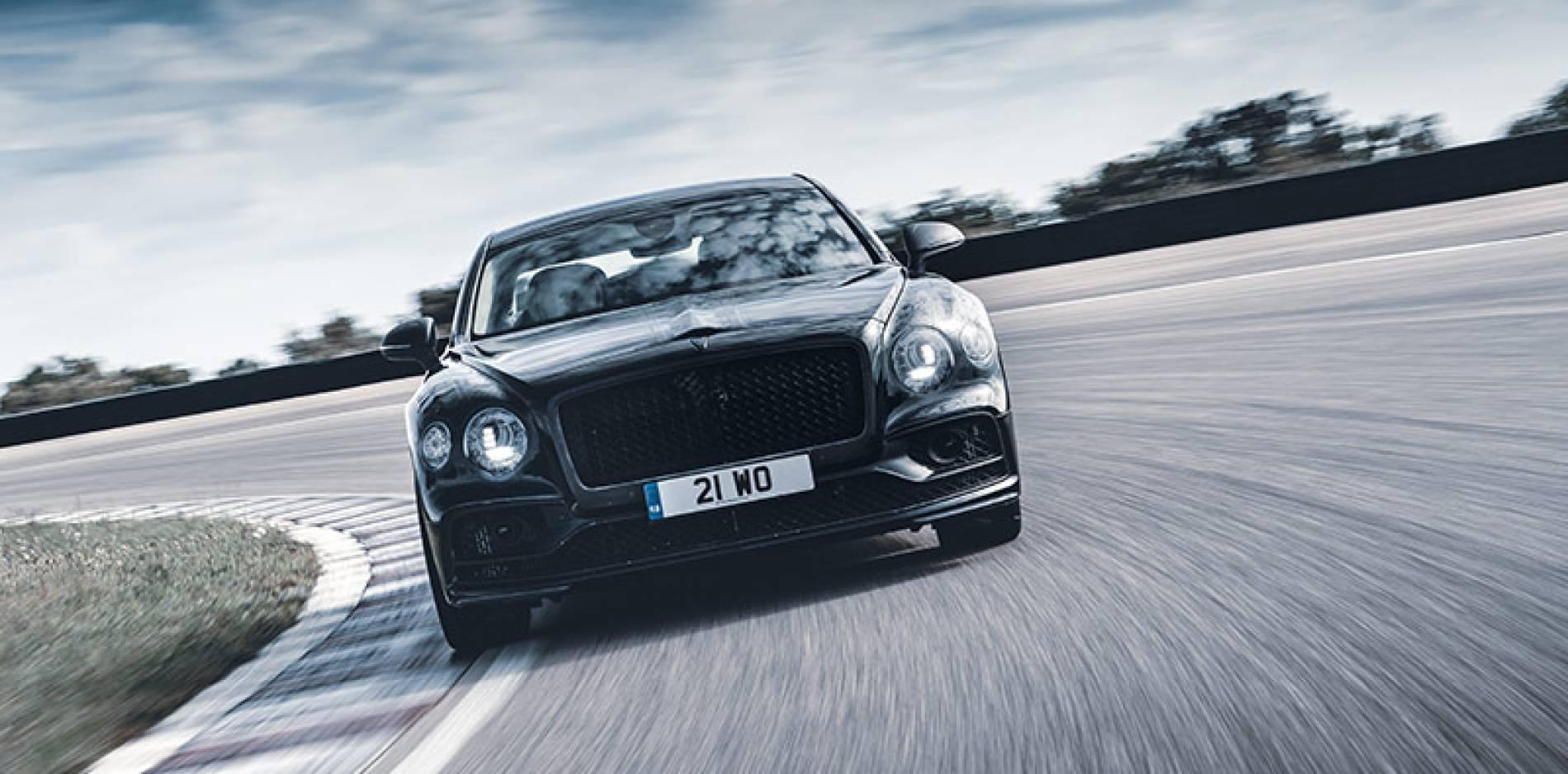El nuevo Bentley Flying Spur se deja ver unos días antes de su presentación oficial
