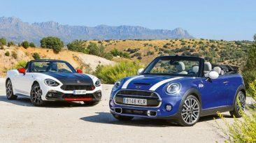 Comparativa Abarth 124 Spider vs MINI Cooper S Cabrio