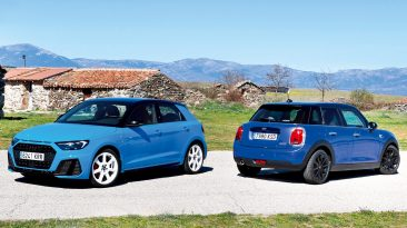 Comparativa Audi A1 vs MINI One
