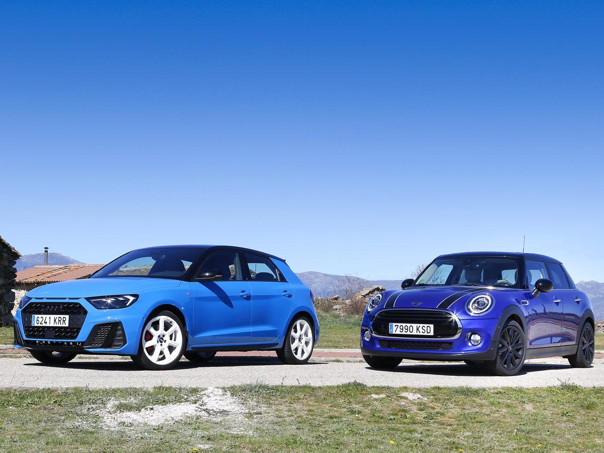 Comparativa Audi A1 vs MINI One