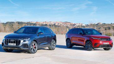 Comparativa Audi Q8 vs Range Rover Velar