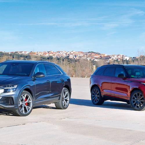 Comparativa entre dos de los SUV más deseados: Range Rover Velar vs Audi Q8