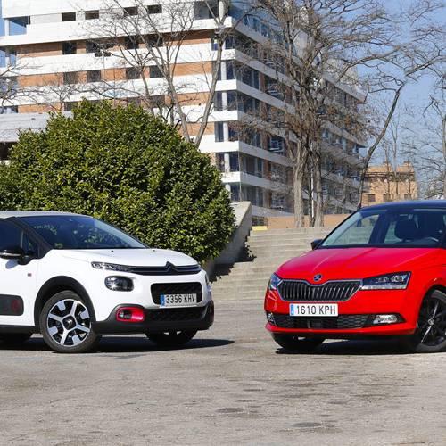 Comparativa de urbanos, Citroën C3 vs Škoda Fabia, ¿con cuál te quedas?