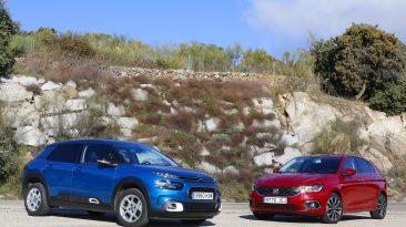 Comparativa Fiat Tipo vs Citroën C4 Cactus 2019