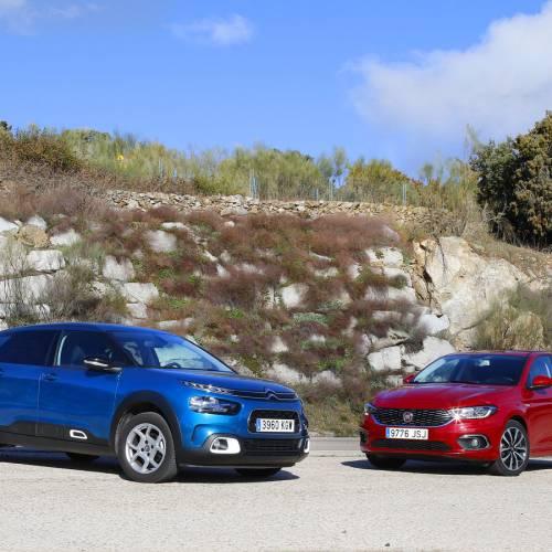 Comparativa práctica, Citroën C4 Cactus HDi Shine vs Fiat Tipo Multijet II Lounge