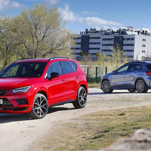 Comparativa de SUV deportivos, Cupra Ateca vs Mercedes-AMG GLA