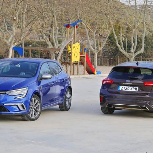 Comparativa de compactos generalistas, Renault Mégane vs Ford Focus