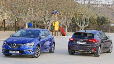 Comparativa Renault Megane GT Line vs Ford Focus Vignale 2019