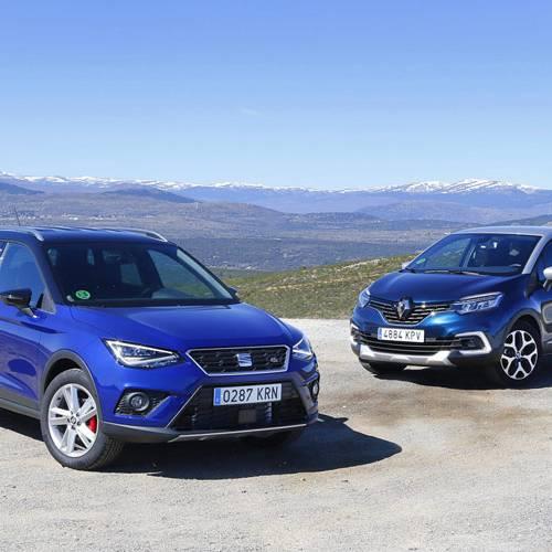 Comparativa en el segmento de moda, SEAT Arona vs Renault Captur