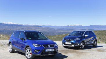 Comparativa SEAT Arona vs Renault Captur