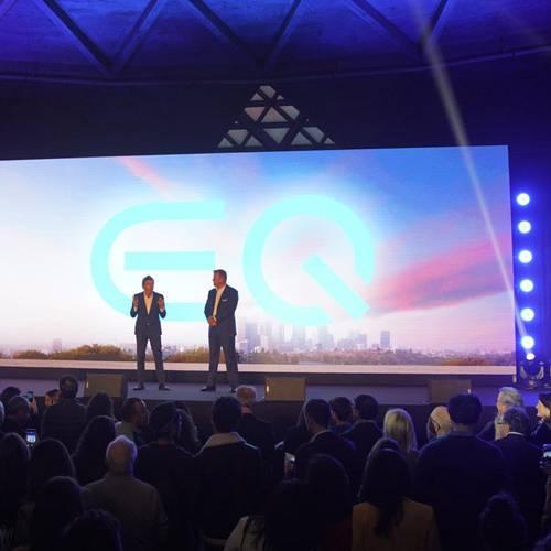 EQ, así se denomina la nueva marca de coches eléctricos de Mercedes-Benz