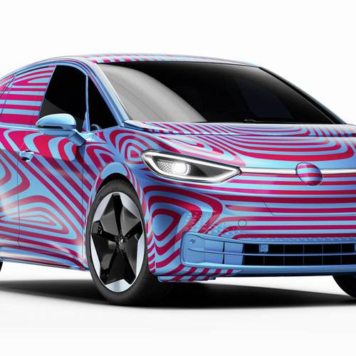 ID.3, el primer exponente de la nueva familia de eléctricos de Volkswagen se muestra en Barcelona