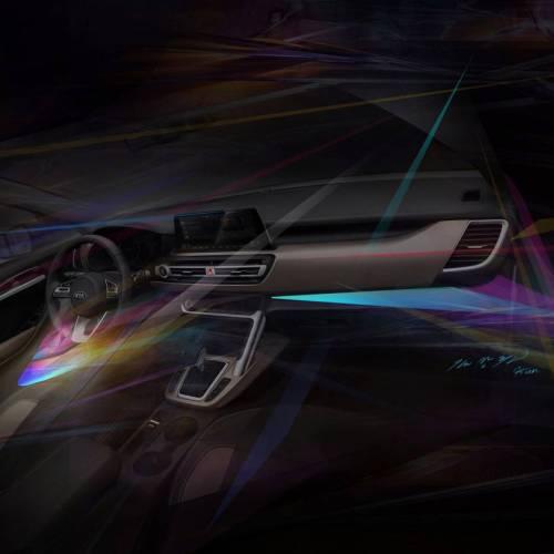 El nuevo SUV urbano de Kia muestra su interior