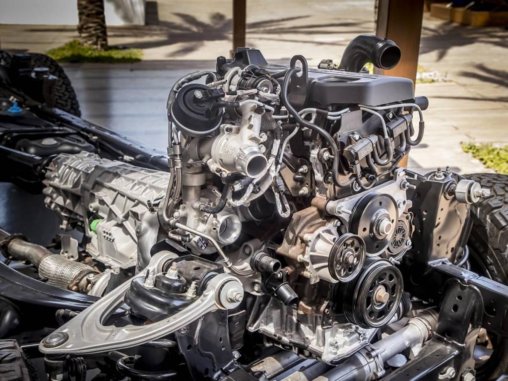 motor ford ranger raptor