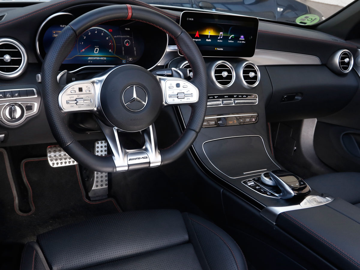 prueba a fondo mercedes amg c 43 4matic cabrio rabia asumible cosas de coches. Black Bedroom Furniture Sets. Home Design Ideas